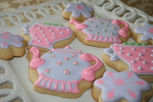 colorful, cookies, cute, dots, girly, heart shape