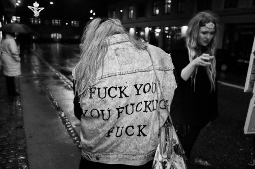 b&w, clothe, fuck, fuck you, fucking, girl