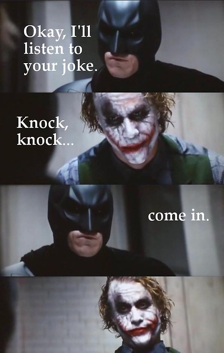 batman, funny, haha, joke, joker, lol