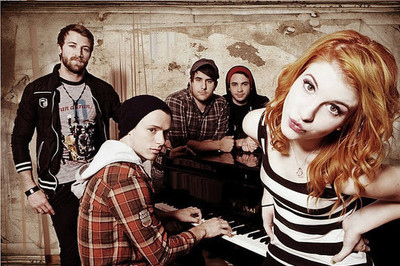 cute, hayley williams, jeremy davis, josh farro, paramore, taylor york