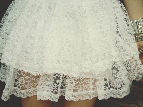 dress, fashion, girl, lace, photography, skirt, white
