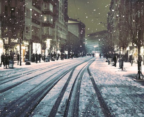 amsterdam, city, london, snow, winter
