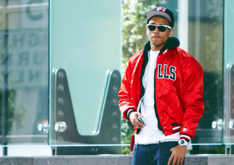 beautiful, boy, bulls, chicago, chris brown, cute, fitted, g shock, hotness, light, photography, posed, red, separate with comma, sexy, swag, swagger, varsity jacket