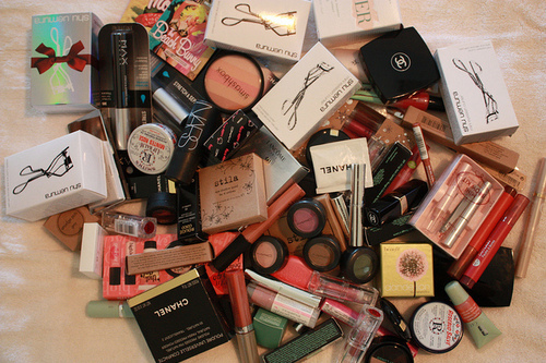 benefit, chanel, cute, fashion, girly, glitter, hot, lipstick, mac, make up, nars, pink, pretty, sephora, shopping