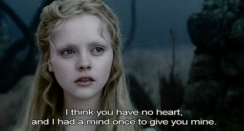 burton, christina ricci, heart, johnny depp, love, movie quote