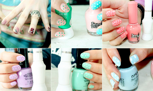 cute, nail, nail art, nails, pastel, pastels