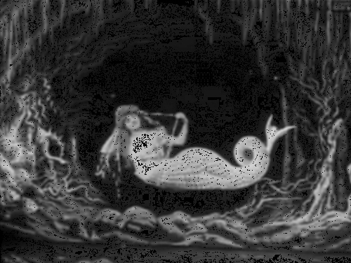 1904, black and white, french, georges melies, la sirene, mermaid