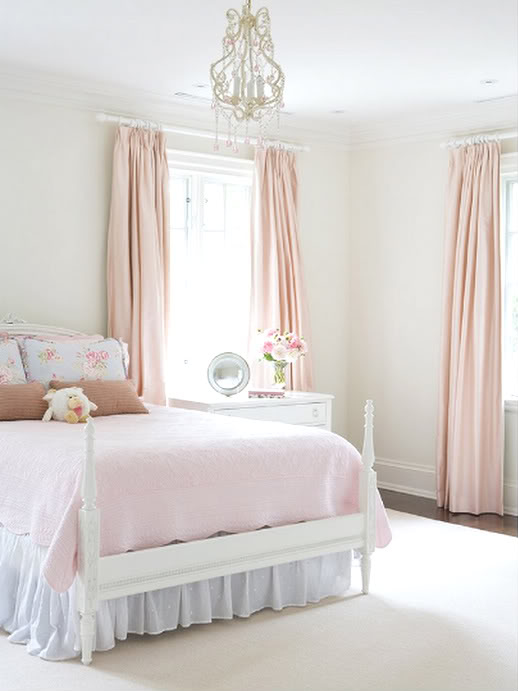 bed, bedroom, decor, girly, interior, pink