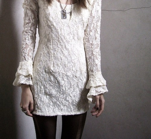 dress, fashion, girl, lace