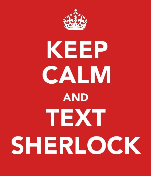 carry on, carryon, crown, keep calm, keep calm and carry on, keepcalmandcarryon, phone, poster, sherlock, sherlock holmes, text