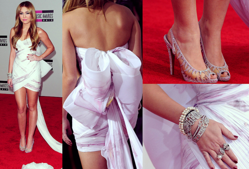 amazing, christian louboutin, cyrus, flashiness, marchesa, miley, miley cyrus