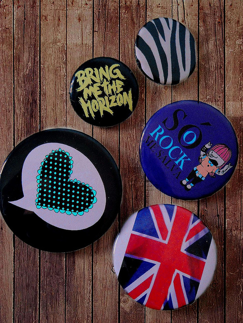 bmth, bottons, bring me the horizon, cute, fashion, heart