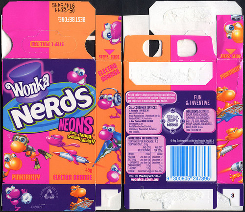 box, candy, candy wrapper, food, neon, nerds