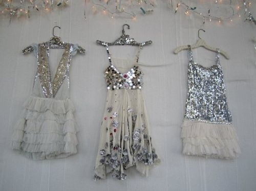 dresses, hunger, sequins, shabby chic, silver