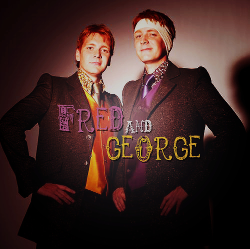brothers, fred, fred and george, fred weasley, george, harry potter