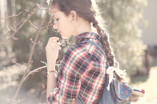 braid, girl, hair, light, photograph, photography
