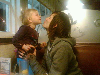 child, cute, deathcore, kenadee isis lucker, mitch lucker, suicide silence