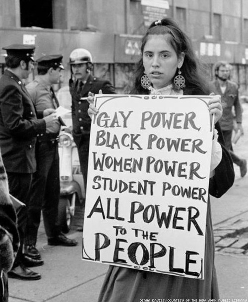 black, black and white, gay, people, power, sign, student, ugly power, woman