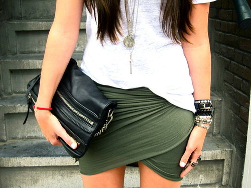clothes, clothing, cute, fashion, girl, green