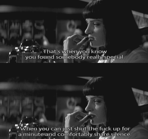black&white, pulp fiction, subtitles, true, uma thurman