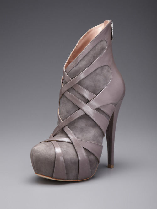 ankle boots, booties, designer, fashion, gray, leather
