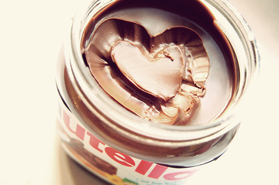 chocolate, heart, luxe, nutella, photography