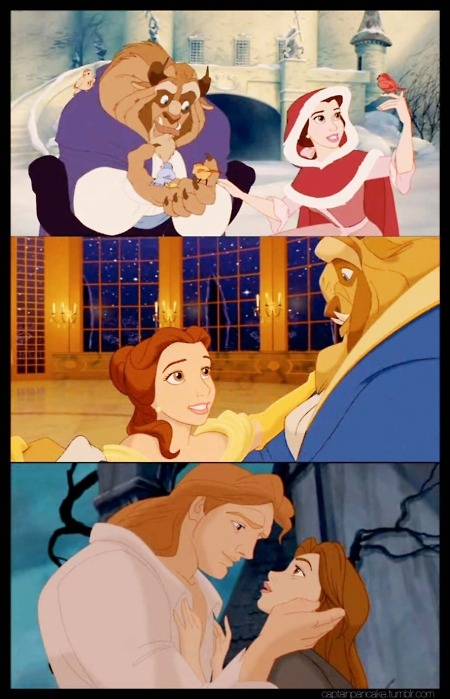 beauty and the beast, belle, classic, disney, princess