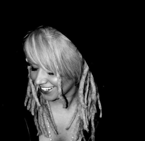 black white, blonde, cute, dreadlocks, dreads, girl, rasta