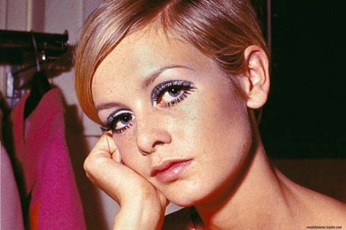 british, makeup, pretty, short hair, super model, twiggy