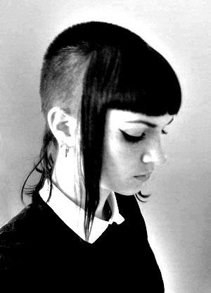 b&w, black and white, chelsea, skinbyrd, skinhead, undercut