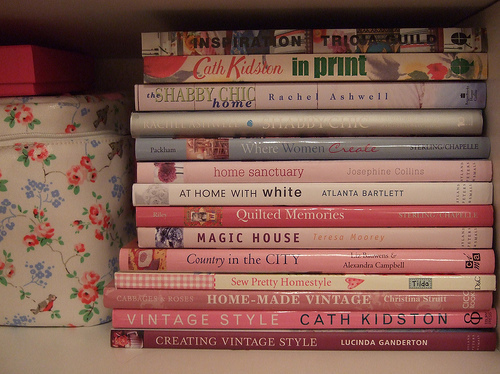 book, books, bookshelf, cath kidston, design, home