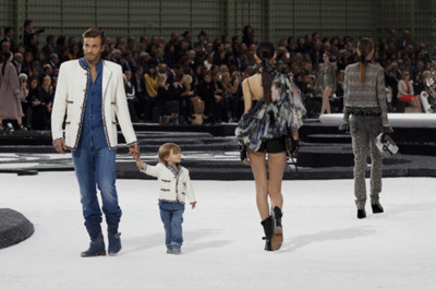 boy, catwalk, chanel, child, fashion, girl