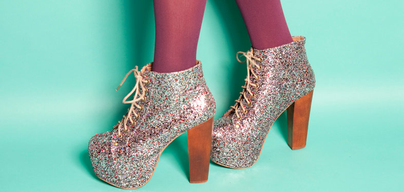 bling, fashion, glitter, photography, platform shoes, pretty