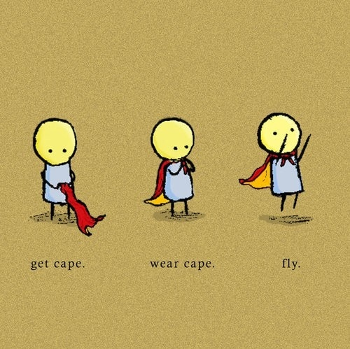 cape, cute, fly, funny, get cape, wear cape
