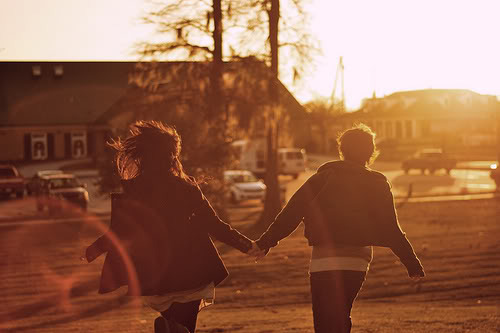 boy, couple, girl, hand, hands, hold, photo, sun