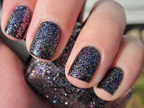adorable, cute, gamei nessa unha, glitter, nail polish, nails