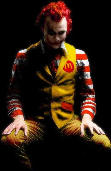 joker, mac donalds, mcdonalds, tenso, the joker