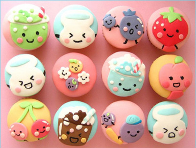 adorable, art, cupcake, cute, food, kawaii, love