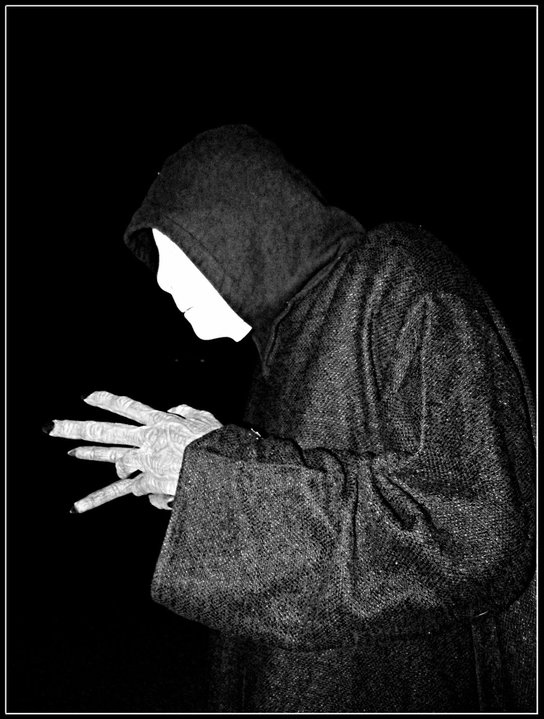 Black and white creepy cult dark gothic monster for Creepy gothic pictures