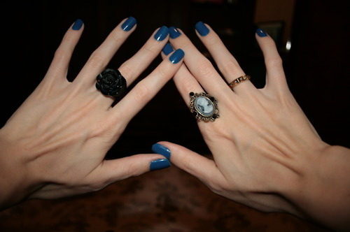 beautiful skinny hands, blue, dark, disgusting skinny hands, fashion, hands