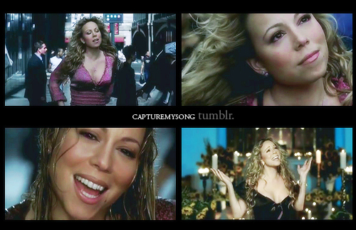 captures, cute, love, mariah carey, music, music video, rain, sweet, through the rain