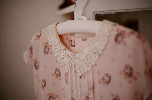 antique, collar, dress, fashion, lace, pink