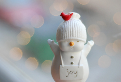 Christmas cute lights photography snowman winter image 96026
