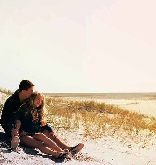 beach, couples, dear john, john, love, praia, querido john, savannah