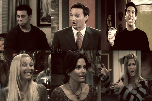chandler bing, courteney cox, david schwimmer, friends, jennifer aniston, joey tribbiani