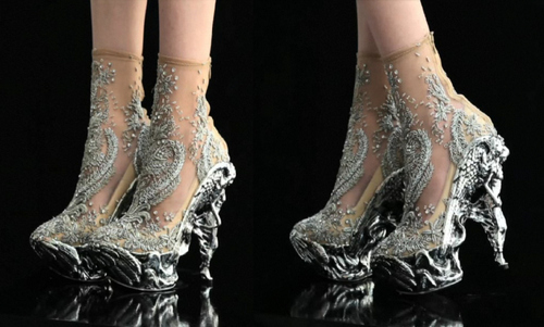 alexander mcqueen, fashion, heels, horrible shoes, like lady gaga, shoes