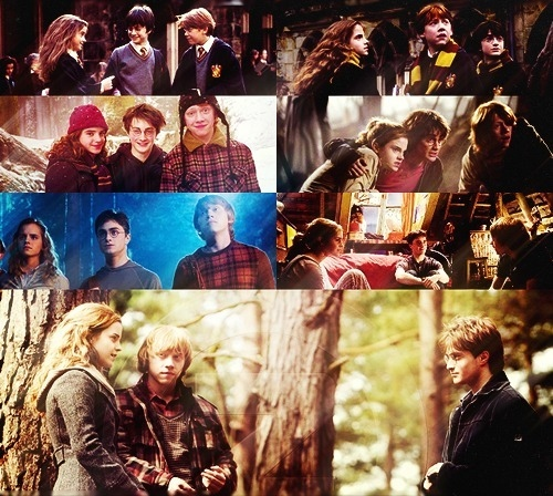 daniel radcliffe, emma watson, friendship, harry potter, hermione granger, movies