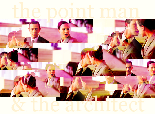 ariadne, arthur, ellen page, inception, joseph gordon-levitt