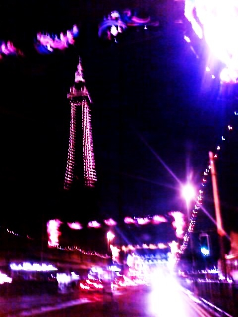 blackpool, britain, england, light, photo, photography