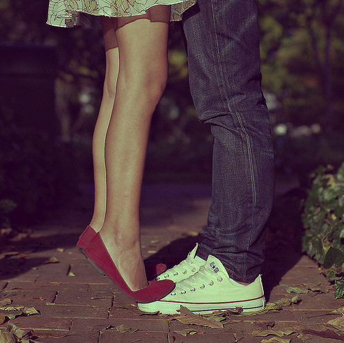 adorable, all star, couple, cute, dress, jeans